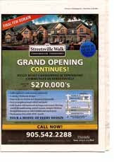 Mississauga New Homes, page NH1