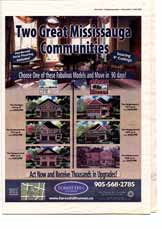 Mississauga New Homes, page NH3