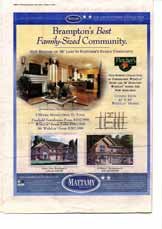 Mississauga New Homes, page NH12