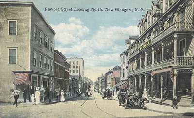 Provost Street Looking North, New Glasgow, N.S.