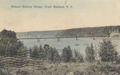 Midland Railway Bridge, South Maitland, N.S.