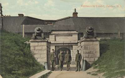 Entrance to Citadel, Halifax, N.S.