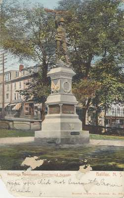 Soldiers Monument, Provincial Square, Halifax, N.S.