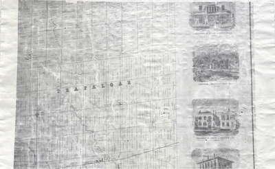 Tremaine's Map of the County of Halton 1858 - Trafalgar Township