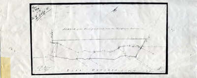 Sketch of Land Purchase from the Mississauga Indians 1805
