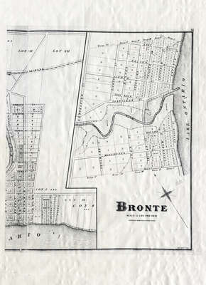 Map of Bronte 1877