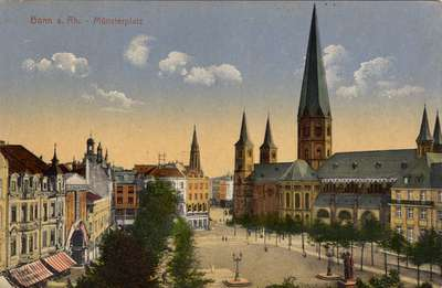 Bonn a. R. - Münsterplatz