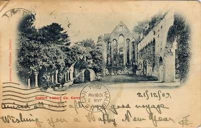 Ardfert Abbey, Co. Kerry.