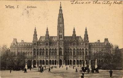 Rathaus, Wien, I.
