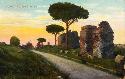 Roma. Via Appia Antica.