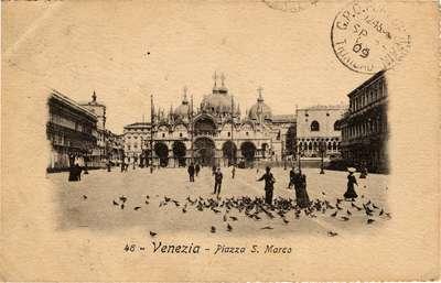 Venezia - Piazza S. Marco [Piazza of San Marco, Venice]