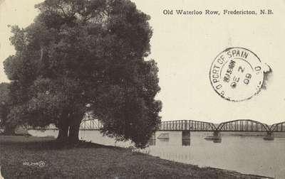 Old Waterloo Row, Fredericton, N.B.