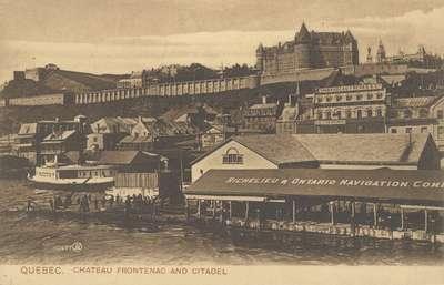 Chateau Frontenac and Citadel, Quebec