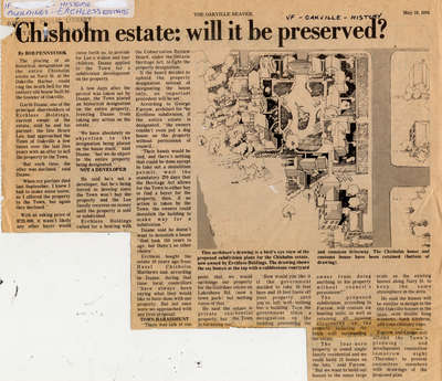 Chisholm estate: will it be preserved?
