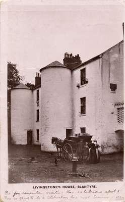 Livingstone's house, Blantyre