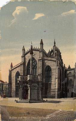 St. Giles and Mercat Cross, Edinburgh