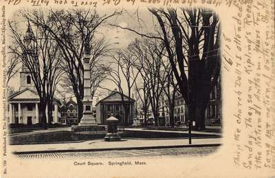 Court Square, Springfield, Mass.