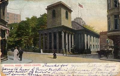 Boston, Mass. King's Chapel