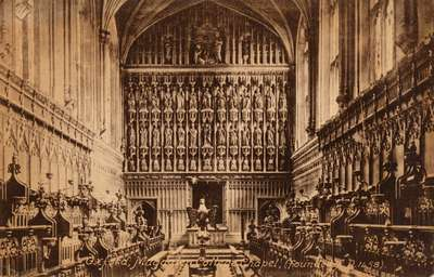 Oxford, Magdalen College Chapel (Founded A.D. 1458)