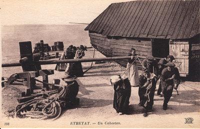 Étretat – Un Cabestan