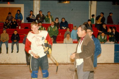 MOHA Hockey Game