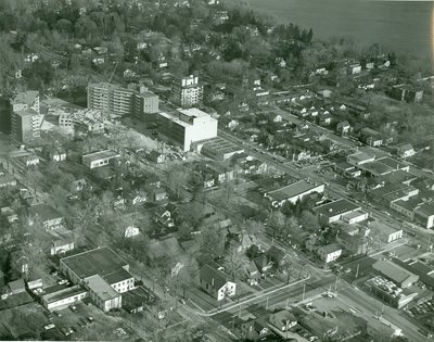 Aerial View of Downtown Oakville