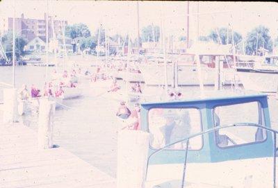 Sailing in Bronte Harbour