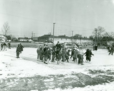 Skating party, courtesy of the Town of Oakville