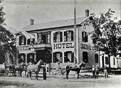 Queen's Hotel  OHS #85
