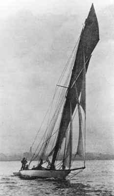 Yacht 'Aggie'  OHS #1077