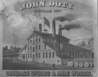 Doty's Carriage Spring & Axle Works  OHS #125