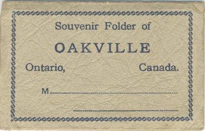 Cover of Souvenir Folder of Oakville