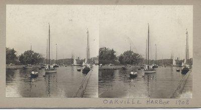 Oakville Harbor, 1908