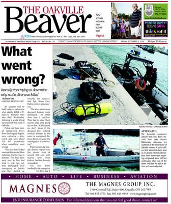 Oakville Beaver, 3 Sep 2010