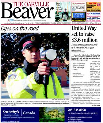 Oakville Beaver, 9 Sep 2010