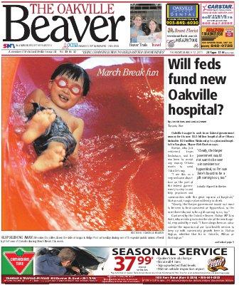 Oakville Beaver, 17 Mar 2011