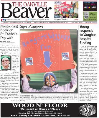 Oakville Beaver, 18 Mar 2011