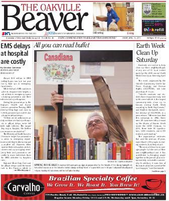 Oakville Beaver, 15 Apr 2011