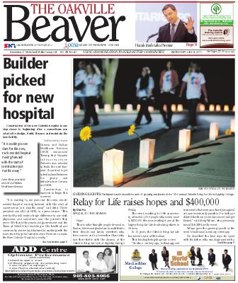 Oakville Beaver, 8 Jun 2011