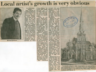 Local artist's growth is very obvious