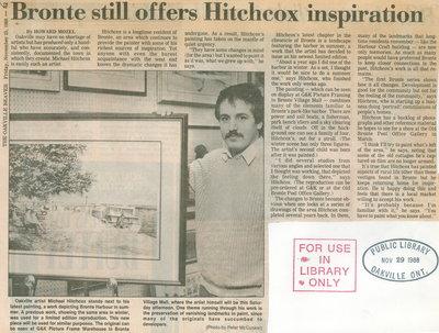 Bronte still offers Hitchcox inspirations