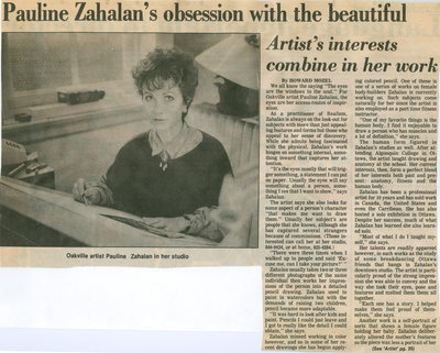 Pauline Zahalan's obsession with the beautiful