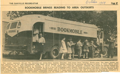 Bookmobile brings reading to area