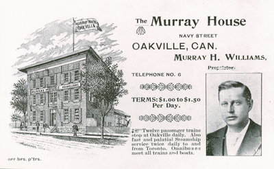 Advertisment for The Murray House from the early 1900s
