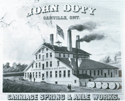John Doty Carriage Spring & Axle Works