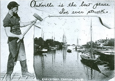 Oakville postcard, City of Toronto Archives, Fonds 1244, Item 9046