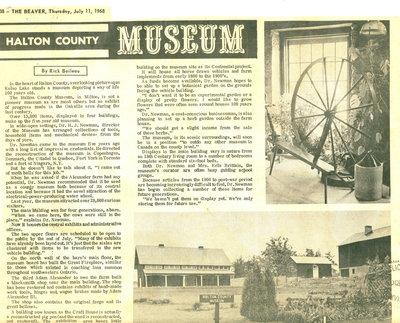 Halton County Museum