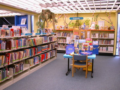 Central library's chidren's department, courtesy of OPL