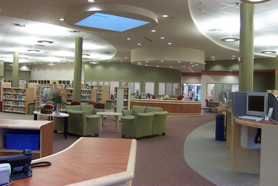 Iroquois Ridge library, courtesy of OPL