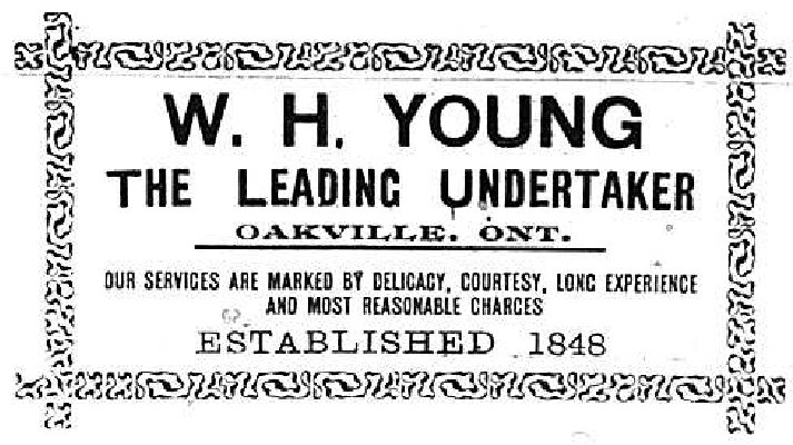 W.H. Young Advertisement, 1903